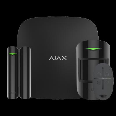 Комплект беспроводной смарт-сигнализации Ajax StarterKit black