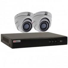 Профессиональный видеокомплект HiWatch-2-1