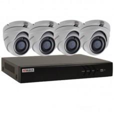 Профессиональный видеокомплект HiWatch-4-5