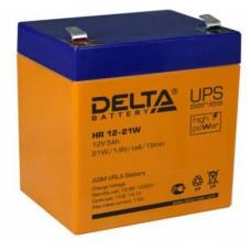 АКБ Delta HR 12V-21W  5А/Ч