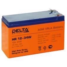 АКБ Delta HR 12V-34W 9 А/Ч
