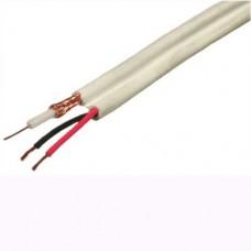 Кабель OptimLAN КВК-2*0.5 12 V внутренний белый (200м)