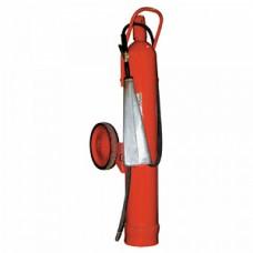 ОУ-25: Огнетушитель углекислотный, передвижной