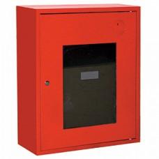ПК-310Н: Шкаф пожарный со стеклом красный (правый)