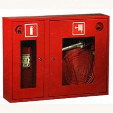 ПК-315Н: Шкаф пожарный со стеклом красный