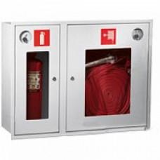 ПК-315В: Шкаф пожарный со стеклом белый