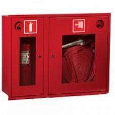 ПК-315В: Шкаф пожарный со стеклом красный