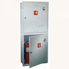 ПК-320В: Шкаф пожарный без стекла белый (левый)