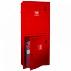 ПК-320В: Шкаф пожарный без стекла красный (левый)