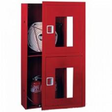 ПК-320В: Шкаф пожарный со стеклом красный (левый)
