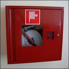 Шкаф пожарный со стеклом красный ПК-310В  (правый)