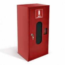 Шкаф пожарный со стеклом красный ШПО-103