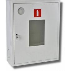 ШПО-113: Шкаф пожарный со стеклом белый (правый)