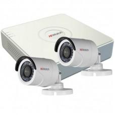 Комплект видеонаблюдения на 2 камеры 2Mp
