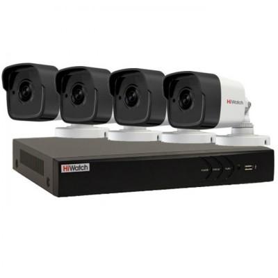 Комплект видеонаблюдения на 4 камеры 5Mp
