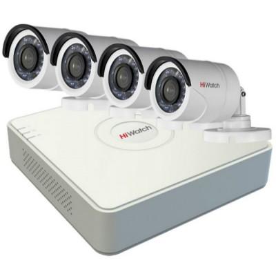Комплект видеонаблюдения на 4 камеры 2Mp для улицы