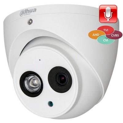 DH-HAC-HDW1100EMP-A-0280B-S3 Гибридная видеокамера Dahua