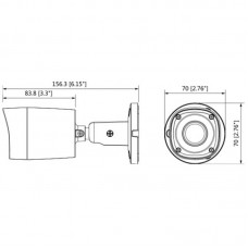 DH-HAC-HFW1100RMP-0600B-S3 Гибридная видеокамера Dahua