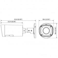 DH-HAC-HFW1200RP-VF-IRE6-S3 Гибридная видеокамера Dahua