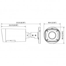 DH-HAC-HFW1200RP-VF-S3 Гибридная видеокамера Dahua