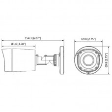 DH-HAC-HFW1220RP-0360B Гибридная видеокамера Dahua