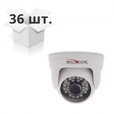 Купольная AHD-видеокамера с ИК-подсветкой PD1-A1-B3.6