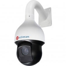 Скоростная поворотная 4Мп IP-камера ActiveCam AC-D6144IR10 с оптикой x30, ИК-подсветкой и PoE+