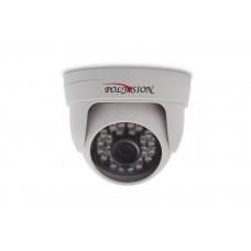 Купольная 1 Мп IP-видеокамера с фиксированным объективом для помещений PD1-IP1-B2.8 v.2.0.2